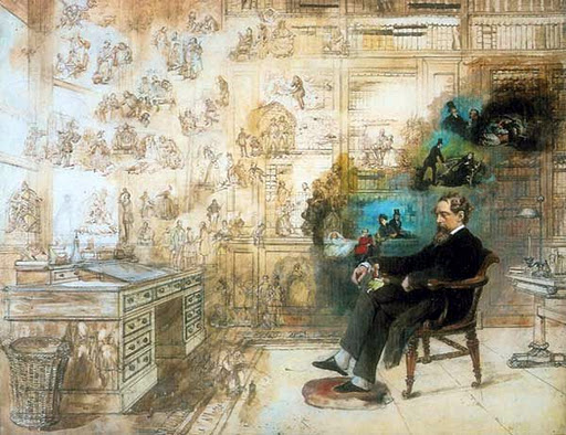 Robert William Buss Dickens´s dream, 1875
