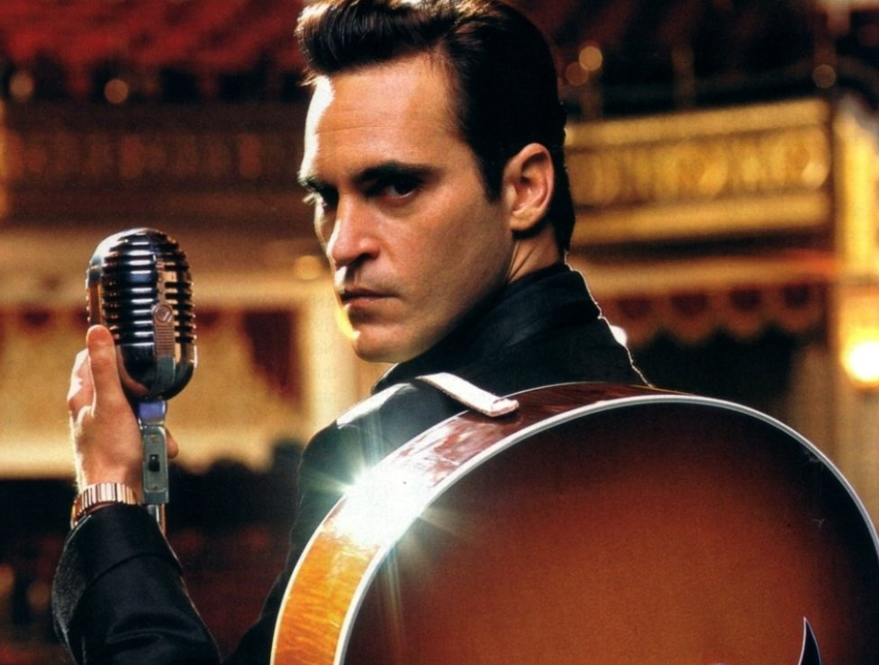 Joaquin Phoenix en la película En la cuerda floja