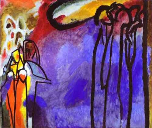 Kandinsky, Improvisación 19, 1911