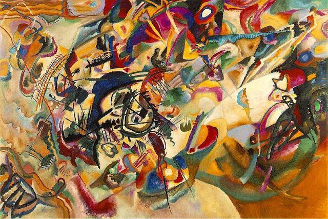 Kandinsky, Composición VII, 1913