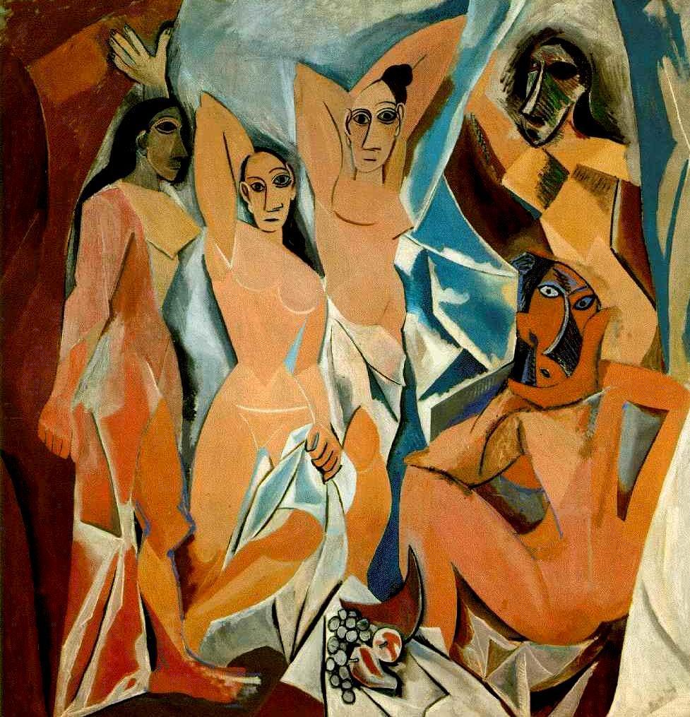 Picasso, Las señoritas de Avignon, 1907