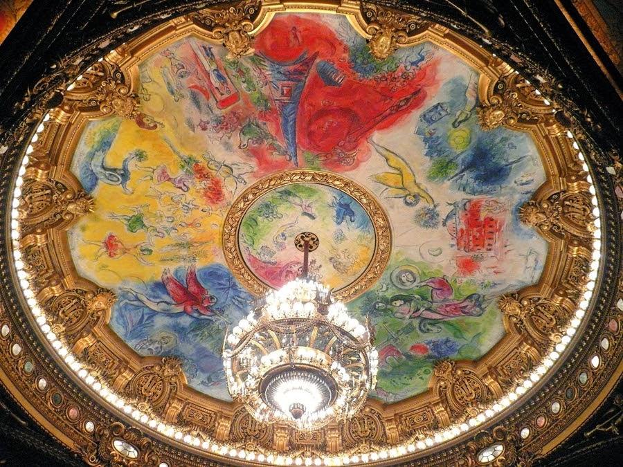 Marc Chagall opera paris
