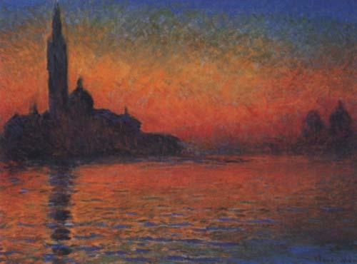 Monet, Crepúsculo veneciano