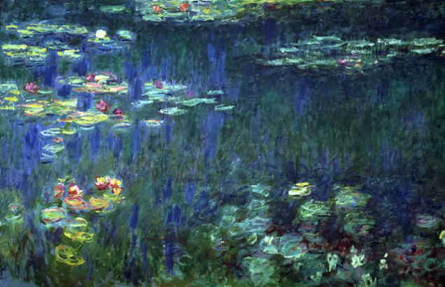 Monet, Nenúfares 1916-1923