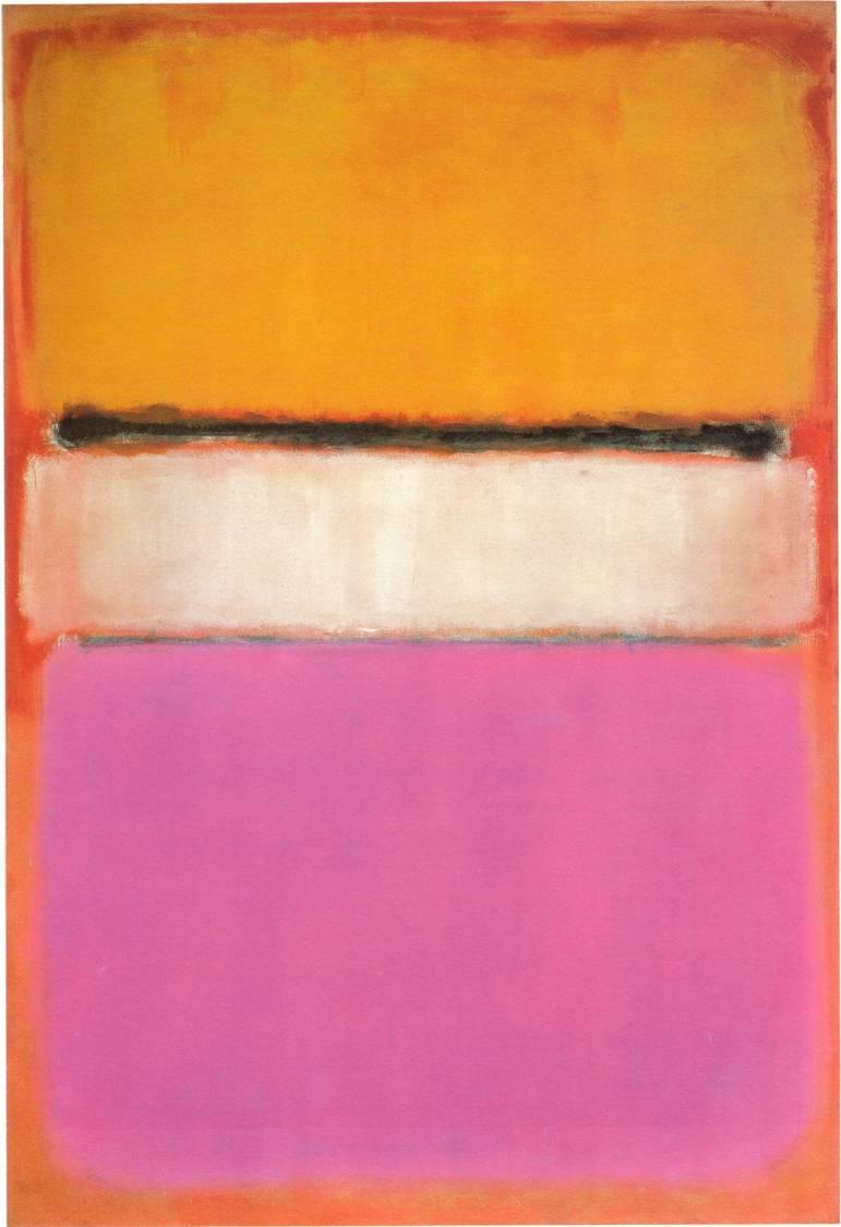 Rothko, Centro rosa, 1950