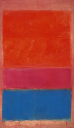 Rothko, Royal red and blue