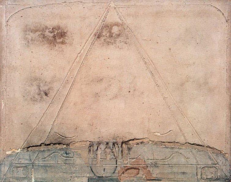 Tàpies, Pirámide, 1959