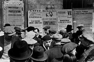 Elecciones legislativas en Francia, 1936, por Robert Capa.