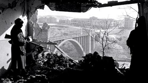 Fotografía de la Guerra Civil, por Robert Capa.