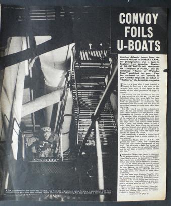 Página de Ilustrated Magazine del Commodore, 1942.