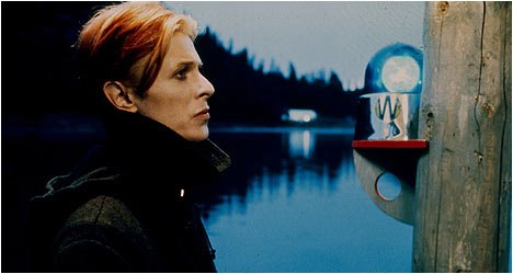 David Bowie en The man who fell to Earth