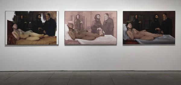 Sin título, 2011. Vista de sala en el Museo Reina Sofía, 2014
