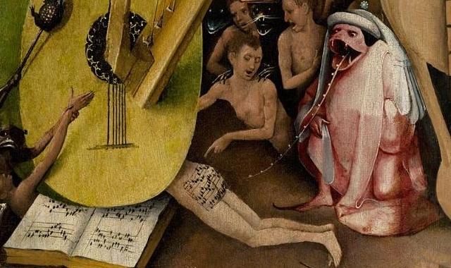 La partitura recientemente transcrita